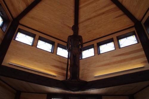 天井には何かの像(何かは忘れた・・・)