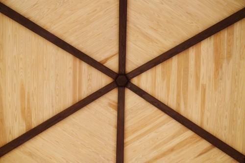六角形の天井