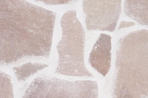 立神岩をモチーフにした敷石