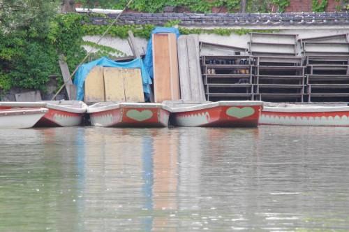 ハートマークのボート。貸切用だそうです。