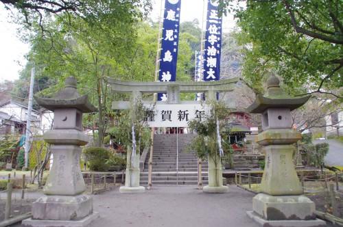 鹿児島神社の鳥居