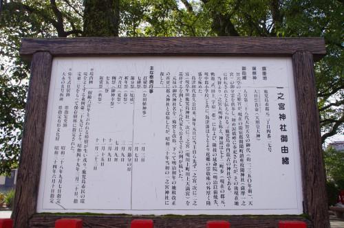 一之宮神社の御由緒