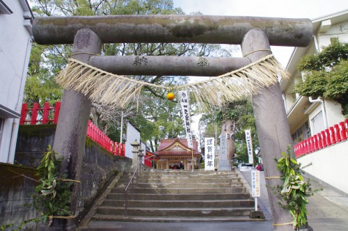 一之宮神社の鳥居