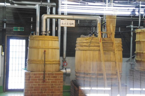 匠の技で作られた樽