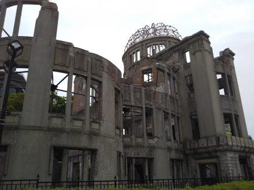 別角度の原爆ドーム