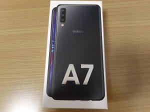 Galaxy A7 買いましたー。